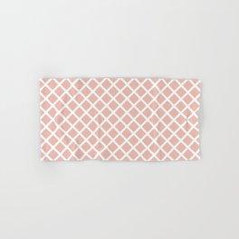 Crisscross (Pink) Hand & Bath Towel