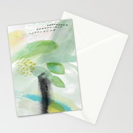 Summer Air Abstract Stationery Cards