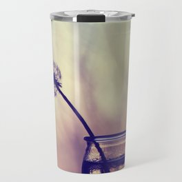 dandelion morning Travel Mug