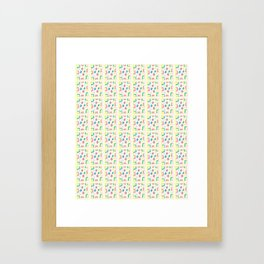 Rectangle and abstraction 4-mutlicolor,abstraction,abstract,fun,rectangle,square,rectangled,geometry Framed Art Print