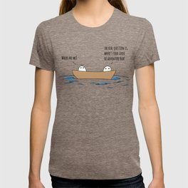 Where Are We? T-shirt