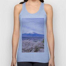 Mount Fuji, Japan Unisex Tank Top