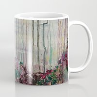 forrest Mugs featuring Spring Forrest by Stephanie Cole CREATIONS