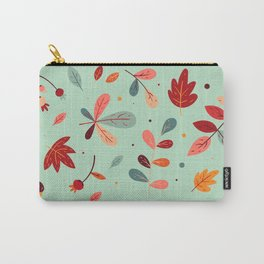 Happy Autumn Pattern Carry-All Pouch