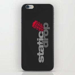Static drop v1 HQvector iPhone Skin