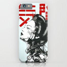 Vaporwave Japanese Cyberpunk Urban iPhone Case
