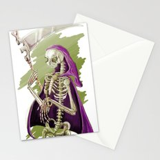 Purple Death Stationery Cards