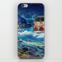 Road trip dream iPhone Skin