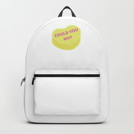 Could You Not | Anti Valentine Sweetheart Candy Backpack