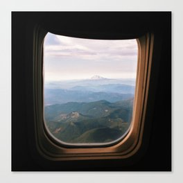 From the Window Seat Canvas Print