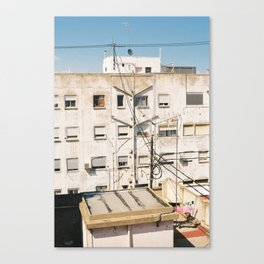 Roof of Valencia Canvas Print