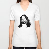 dave grohl V-neck T-shirts featuring Grohl XrayT by Xray T
