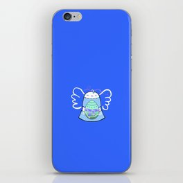Blue Bell on Blue iPhone Skin