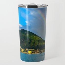 Hawaii Rainbow Mountain Travel Mug