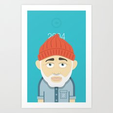 Aquatic Bill Art Print