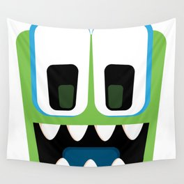 Bubble Beasts: Chilling Cucumber Body Scrub Wall Tapestry