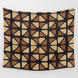 African mud cloth random triangles Wall Tapestry