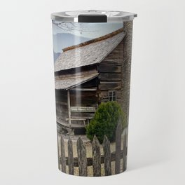 Appalachian Mountain Cabin Travel Mug