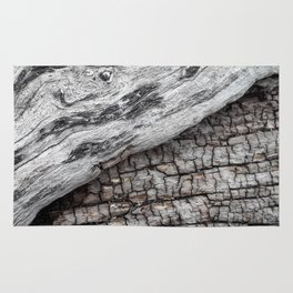 Old Wood - Photography by Fluid Nature Rug
