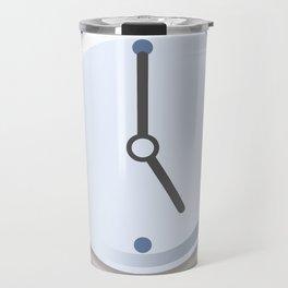 Clock Five Travel Mug