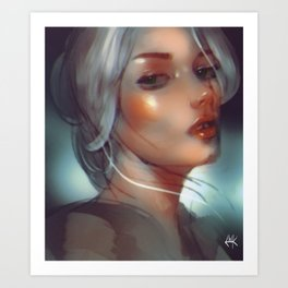 the witcher ¦ ciri Art Print