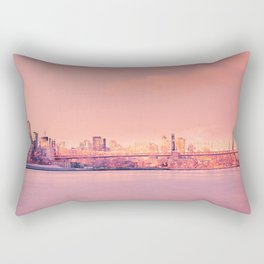 Sunsets Like These - New York City Rectangular Pillow