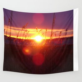 Muriel Lake Sunset 2 Wall Tapestry