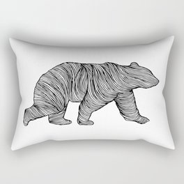 THE BEAR Rectangular Pillow