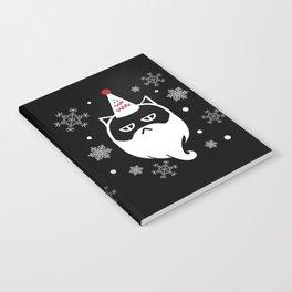 Santa Max (White) Notebook