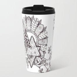 Tri-Zen Flower Travel Mug