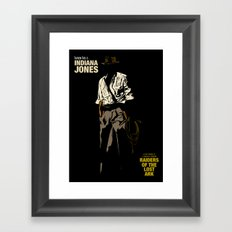 Indiana Jones: Raiders of the Lost Ark Framed Art Print