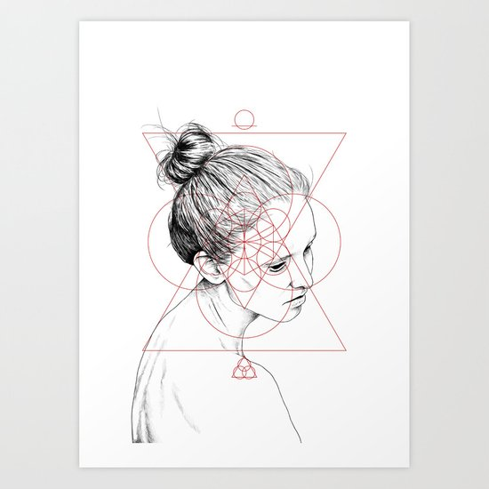 Face Facts II Art Print