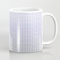 gradient Mugs featuring Gradient  by Shelby Thompson