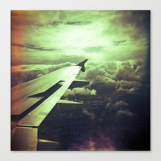Lomographic Flight 1 Canvas Print