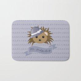 Ms. Hedgehog Bath Mat