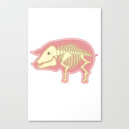 Piggy Pig Canvas Print