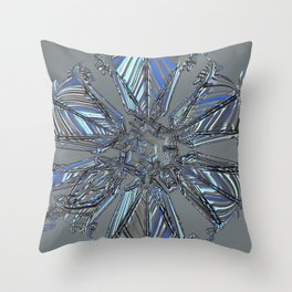 Ice Star Anytime Throw Pillow