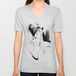 Fashion Painting #5 Unisex V-Neck