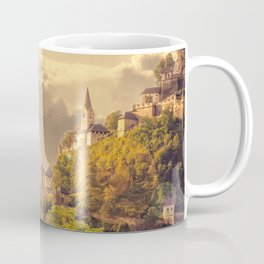 Meditating Monk Coffee Mug