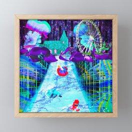 tap into source Framed Mini Art Print