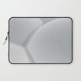 3D abstract sphere white background Laptop Sleeve