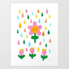 April Showers Art Print