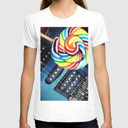 Lollipop Guitar T-shirt