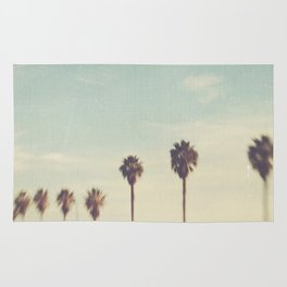 palm trees. Daydreamer No.2 Rug