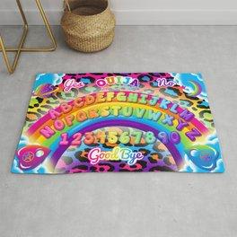 1997 Neon Rainbow Spirit Board Rug