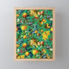 Fruit Pattern Framed Mini Art Print