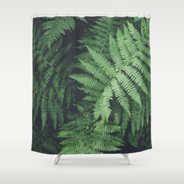 Fern Bush Nature Photography | Botanical | Plants Shower Curtain