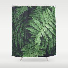 Fern Bush Nature Photography | Botanical | Plants Shower Curtain