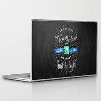 bmo Laptop & iPad Skins featuring Wisdom of BMO by Casey Ligon