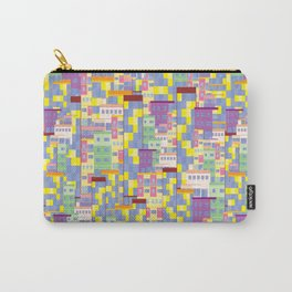 Building Pixel Blocks Carry-All Pouch